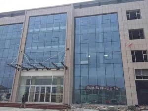 玻璃幕墙工程施工